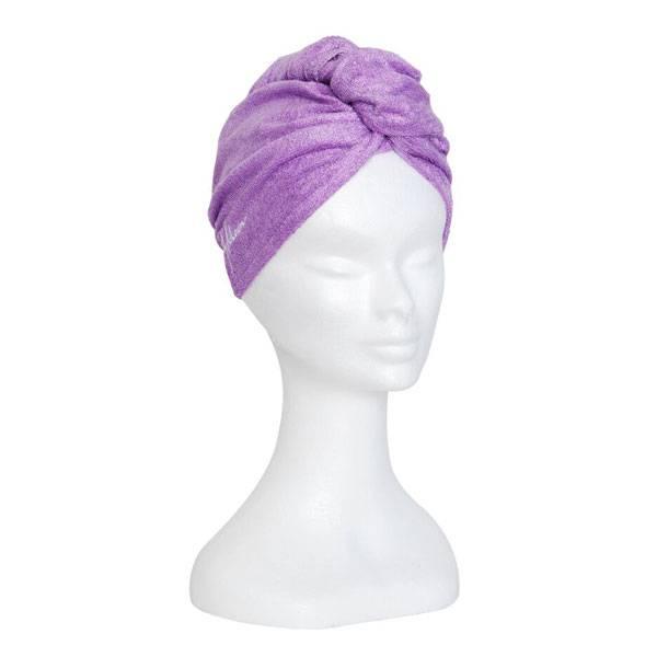 Bilde av Bambus hårhåndkle - lavendel